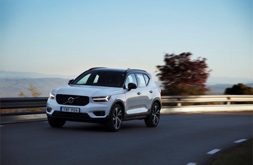 WhatCar? testib: uus Volvo XC40 ehk piruka asemel pitsa