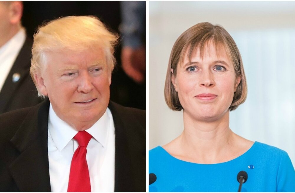 Donald Trump ja Kersti Kaljulaid