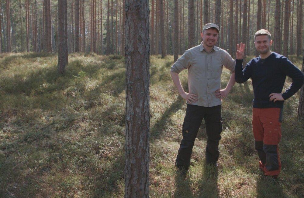 """""""Loodusepäeva Osooniga"""" juhivad Kristo Elias ja Sander Loite."""