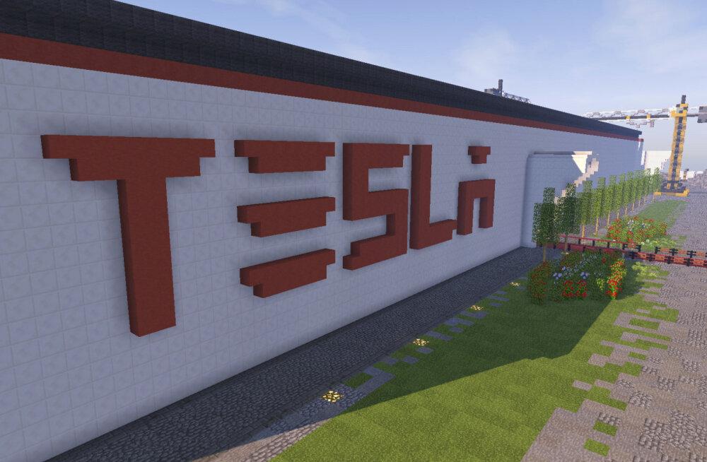Lootusrikkad leedukad ehitasid Minecrafti Tesla tehase - äkki meelitab ka ehtsa vabriku kodumaale?