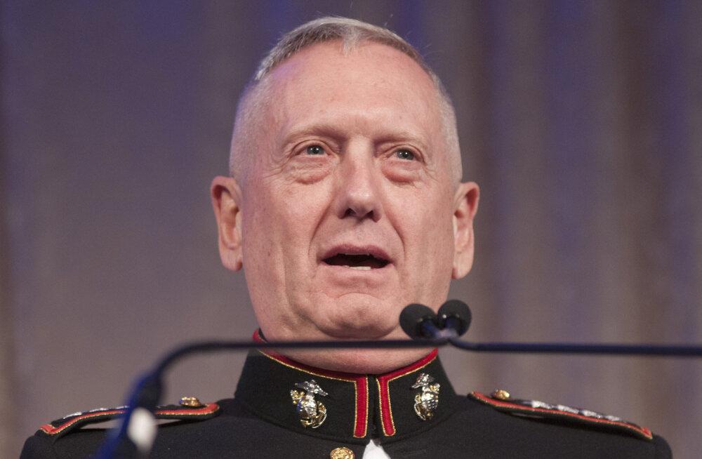 USA kaitseminister sõduritele: Korea kohal kogunevate tormipilvede tõttu tuleb teil valmis olla