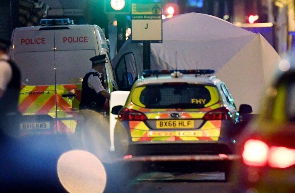 Londoni metroojaama terrorihirmu võis põhjustada sõnasõda platvormil