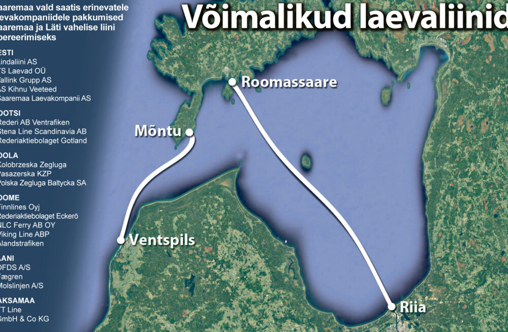 MEIE MAA | Saaremaa-Läti laevaliinile otsitakse hoogsalt väliskosilast