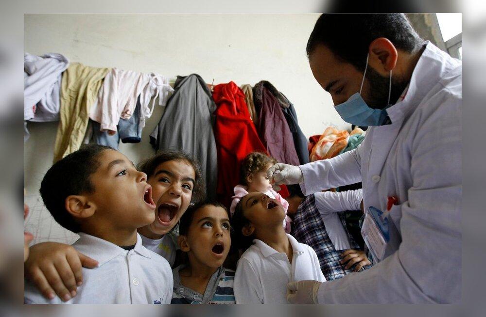 Eksperdid: Süürias avastatud lastehalvatus võib ähvardada ka Euroopat
