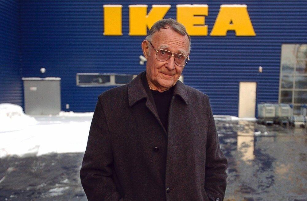 Suri Euroopa üks rikkamatest meestest, IKEA asutaja Ingvar Kamprad