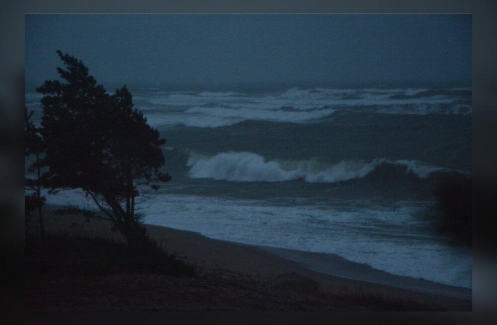 Служба погоды предупреждает: на Эстонию надвигается шторм