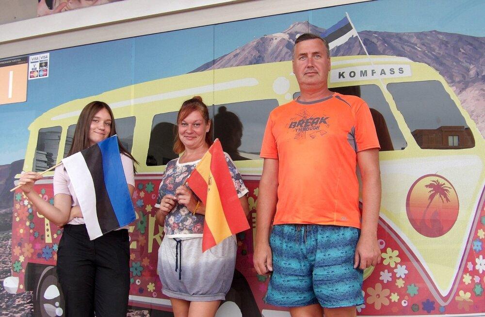Eesti pere mõnus elu Tenerifel teeb lausa kadedaks