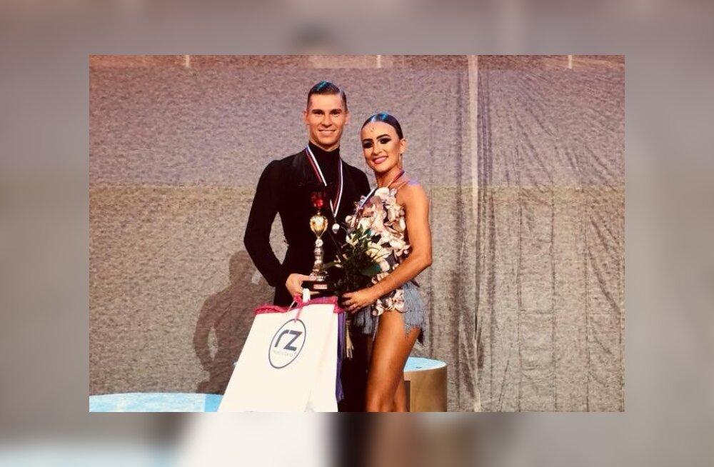 Eesti tantsusportlastel oli kuldne nädalavahetus