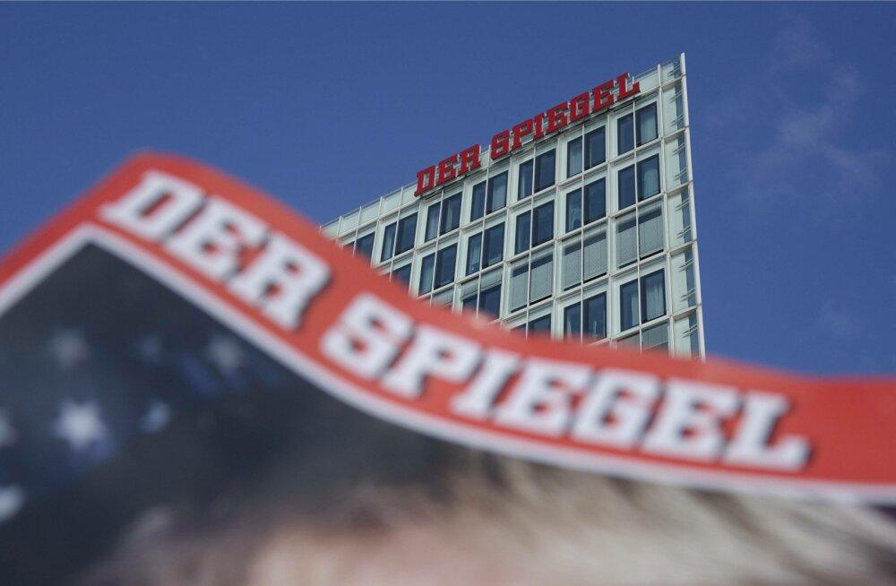 Spiegel teatas pärast piinlikku intsidenti, et kavatseb esitada endise reporteri peale kriminaalkaebuse.