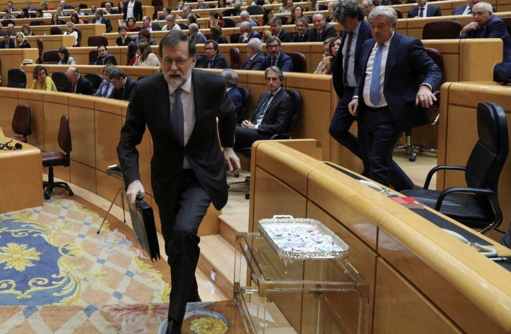 Hispaania senat andis keskvalitsusele volitused Kataloonia oma kontrolli alla võtta