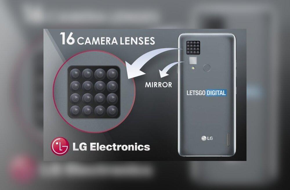 LG выпустит телефон с шестнадцатью камерами. Зачем столько?