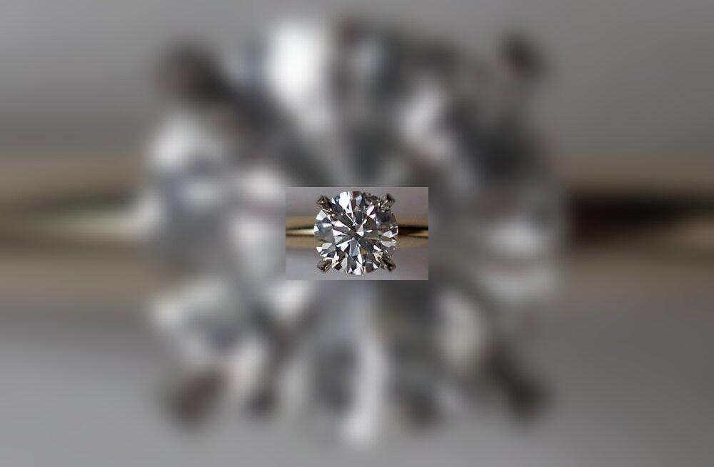 Teemant sai endale kõva konkurendi