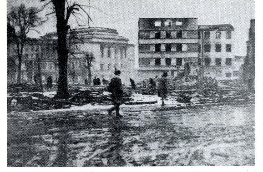 KATKEND RAAMATUST | Tallinn Teises maailmasõjas. Tallinna langemine punaväe kätte septembris 1944, 3. osa