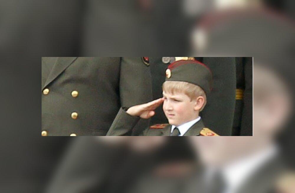 FOTO: Valgevenet esindas ÜRO peaassambleel 11-aastane Kolja Lukašenka