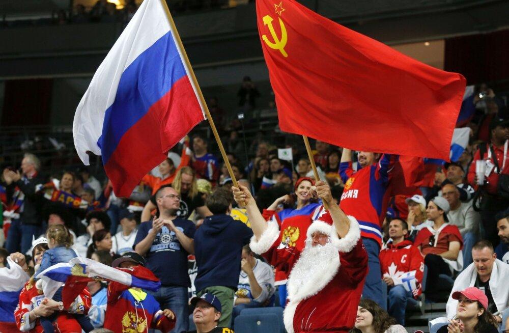 Venemaa ja Nõukogude Liidu lipp