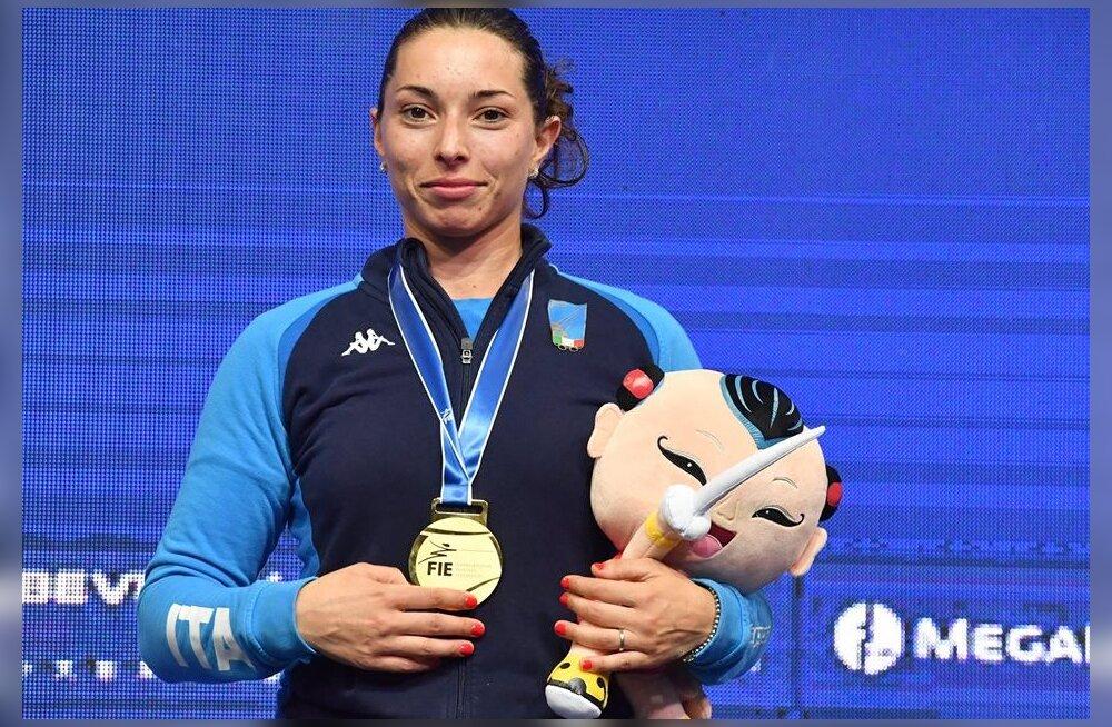 Vehklemise maailmameistriks tuli Lehise võitnud itaallanna