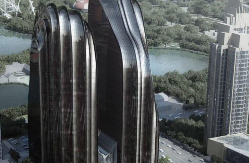 Hiina linnad kopeerivad endiselt liiga palju teiste riikide arhitektuuri