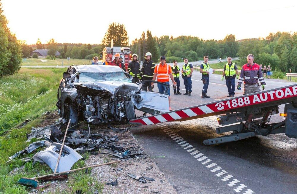 Liiklusõnnetus Haaval