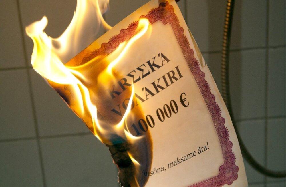 Põlev Kreeka võlakiri