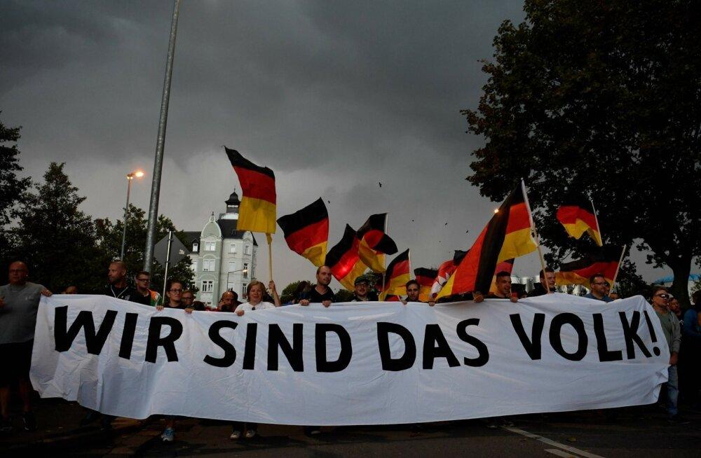 Saksamaal Chemnitzis kantud loosung iseloomustab kõiki populiste: meie oleme rahvas ja meie vastased on ka rahva vaenlased.