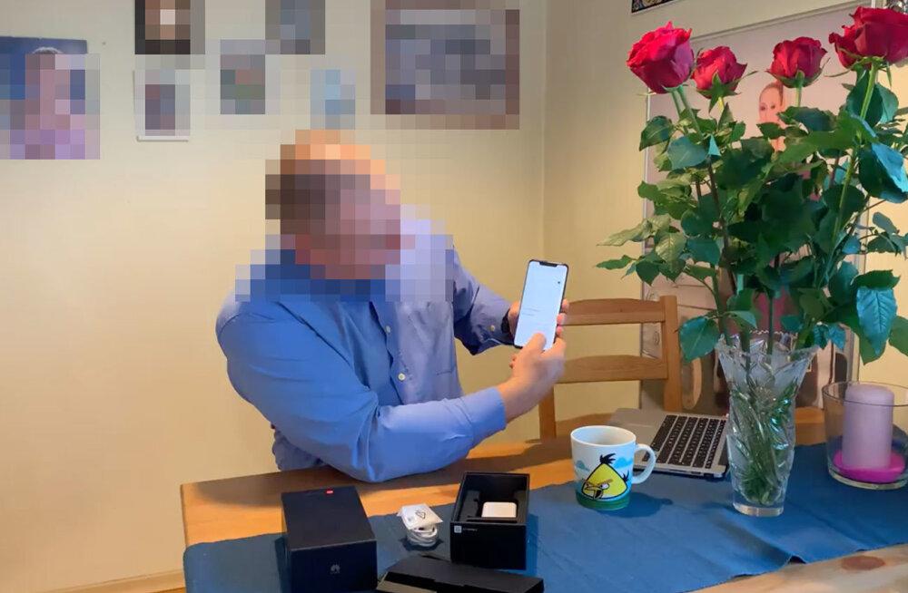 Eestlane ähvardas YouTube'i videoga nurjata Huawei tipptelefoni üllatuse