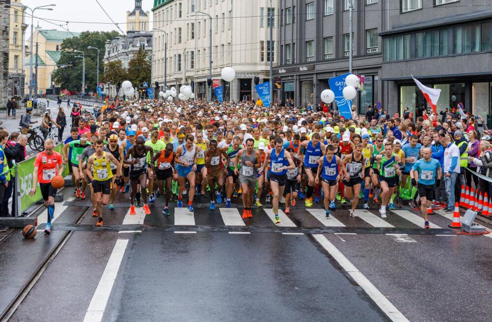 Eesti suurim jooksusündmus Tallinna Maraton pürib Eesti Vabariigi juubeliaastal sajandi suurjooksuks