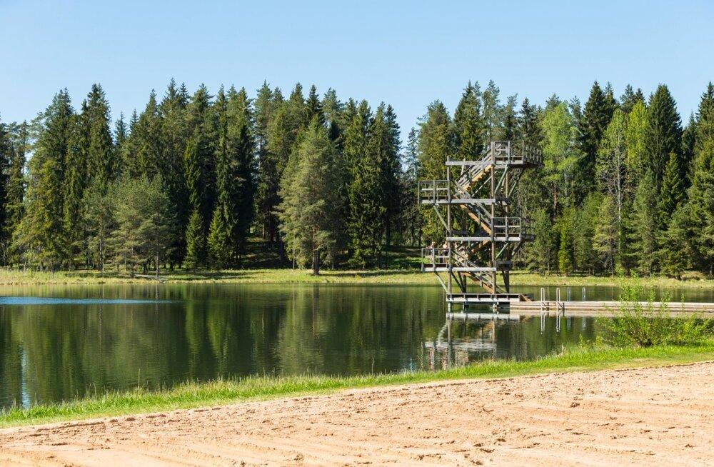 Tuttavad üritasid poissi Vanamõisa järve uppumast päästa, ent vesi oli põhja pool nii külm, et lõi nagu noaga meelekohta