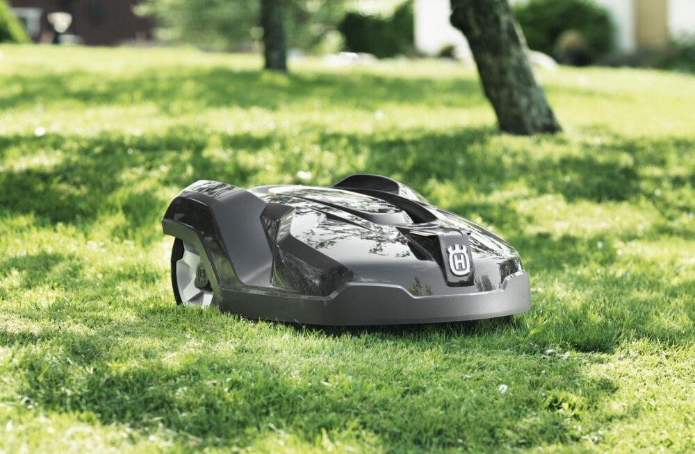 Maailmas niidab muru juba miljon Husqvarna robotniidukit