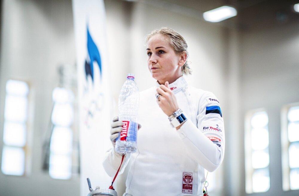Кристина Кууск завоевала бронзу на этапе Кубка мира в Барселоне