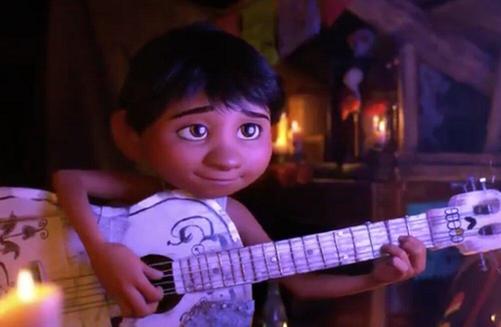 "TREILER: Vaata animafilmi ""Coco"" esimest õrritajat"