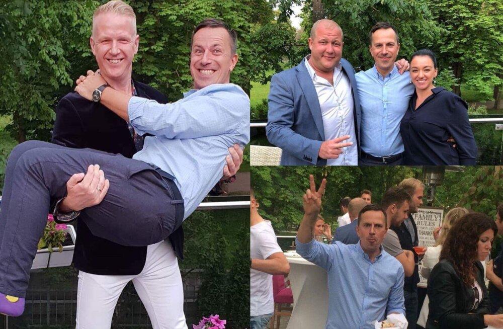 FOTOD | Hurraa, 40! Indrek Sarrap tähistas sõprade ringis meeleolukalt suurt juubelit