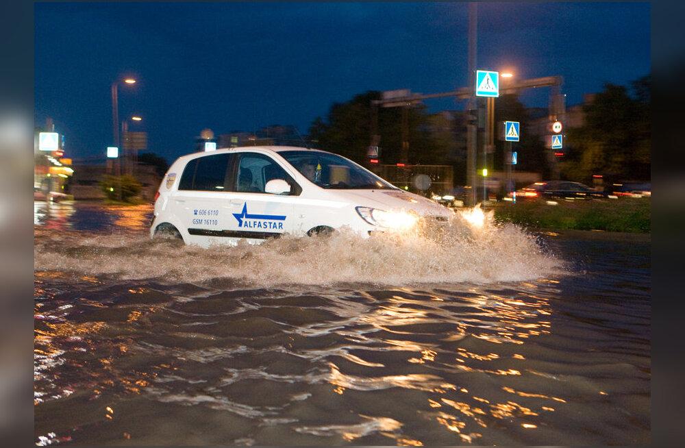 Tallinnas sadas eile enam kui kolmandik kuunormist