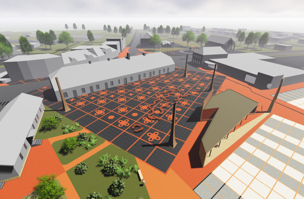 Tõrvas algas uue keskväljaku ehitus. Vaata, millised hakkavad välja nägema EV100 projekti raames meie linnakeskused