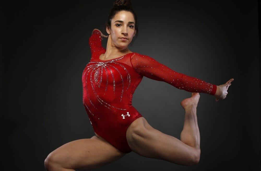 Kolmekordne olümpiavõitja Aly Raisman.