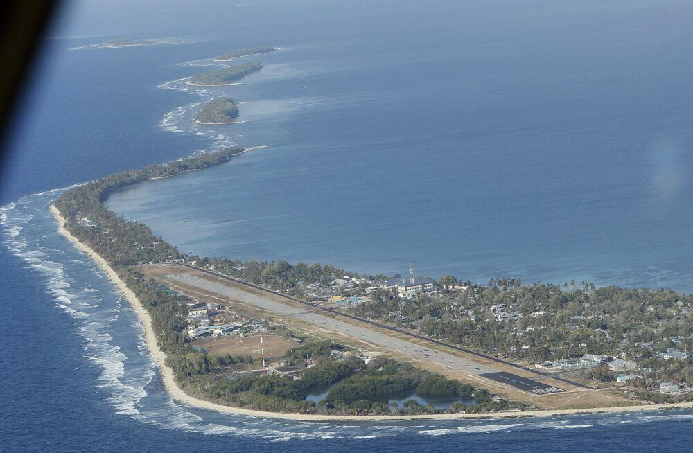 Saareriik Tuvalu pindala kasvab merepinna tõusust hoolimata