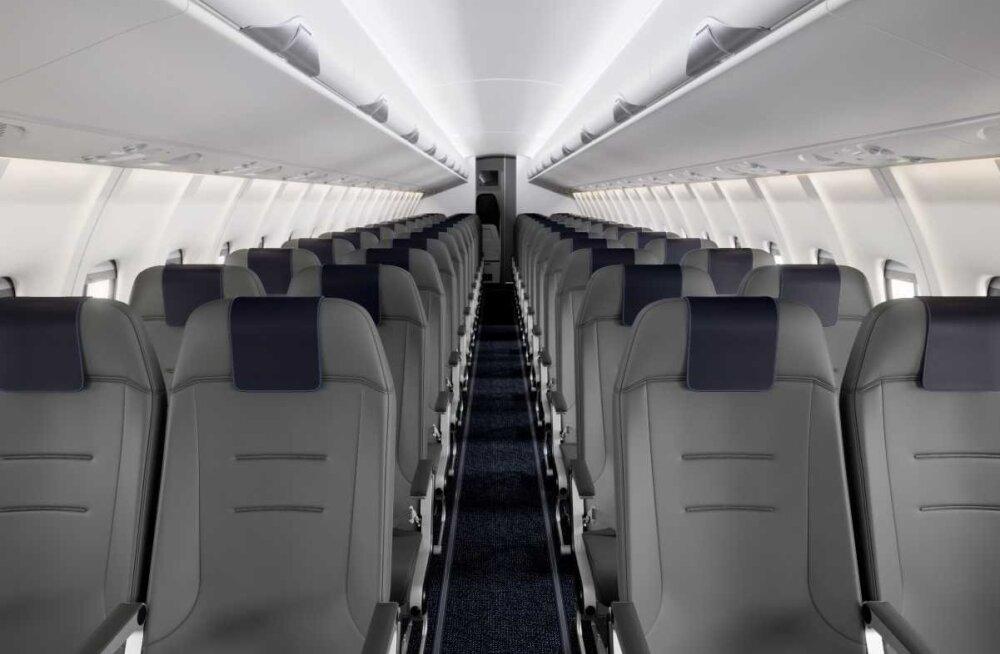 Finnair обновит салоны самолетов для рейсов из Таллинна и Тарту