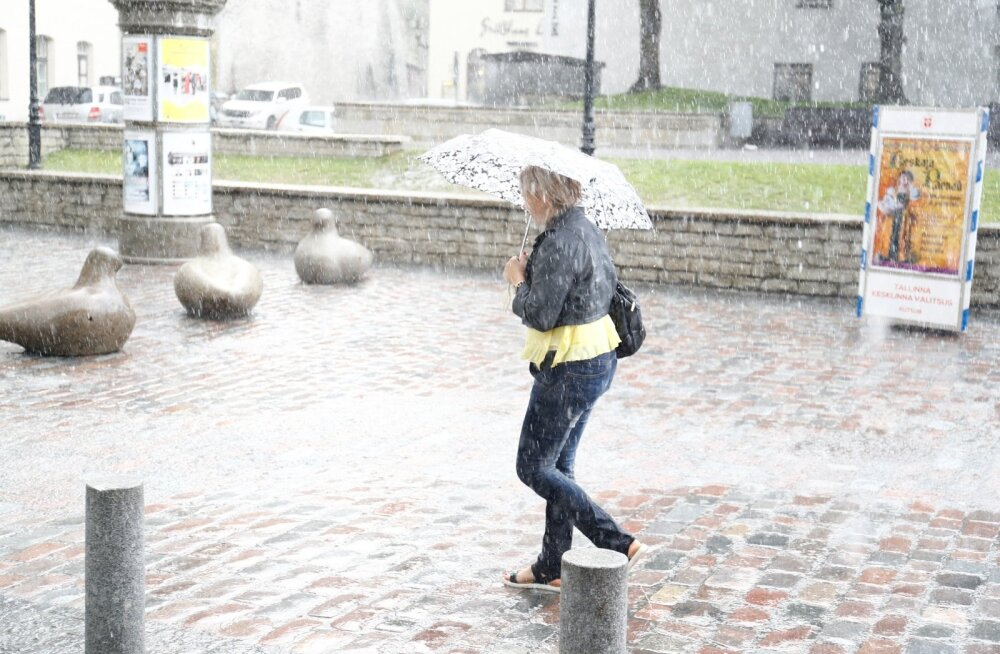 Ilm pöördub tänasest jahedaks ja vihmaseks