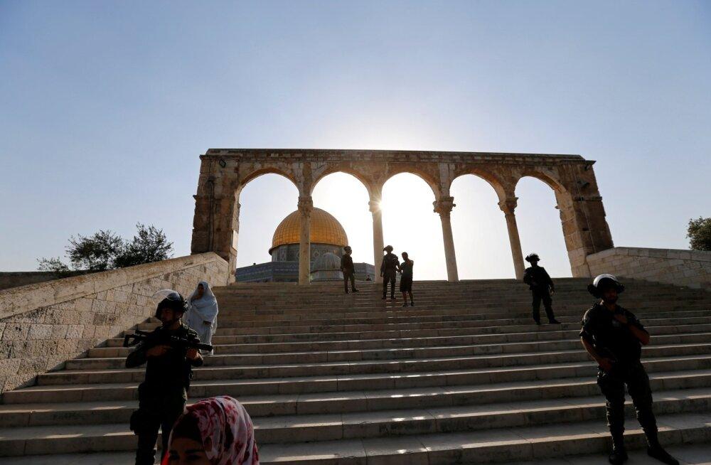 Iisrael keelas taas alla 50-aastastel moslemi meestel Jeruusalemma Templimäele sisenemise