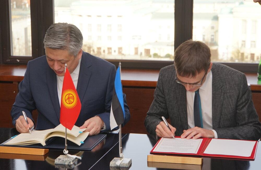 Эстония и Киргизия заключили соглашение об упразднении двойного налогообложения