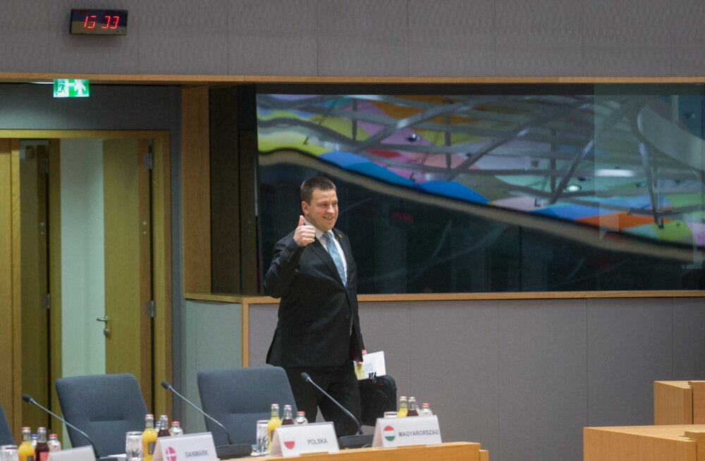 Jüri Ratas on rahul. Eesti eesistumine möödus tema hinnangul igati edukalt, eriti võib rahul olla digivaldkonna edusammudega.