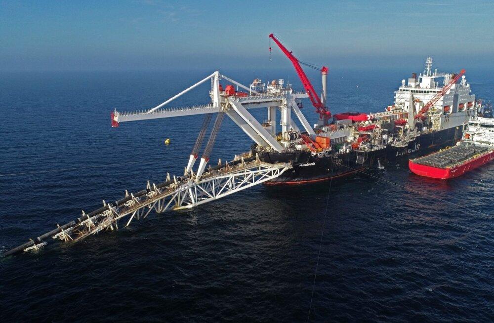 AFP: Prantsusmaa ja Saksamaa jõudsid Nord Stream 2 gaasitoru üle kompromissile