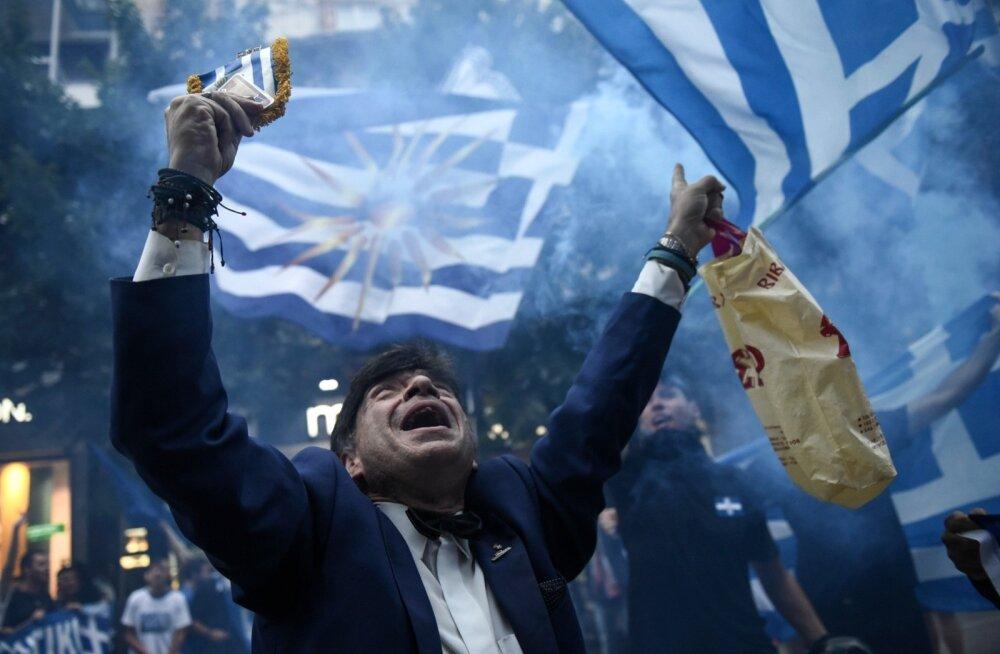 Kreeka rahvuslaste Makedoonia-vastaseid meeleavaldusi õhutab väidetavasti ka Venemaa välisministeerium.