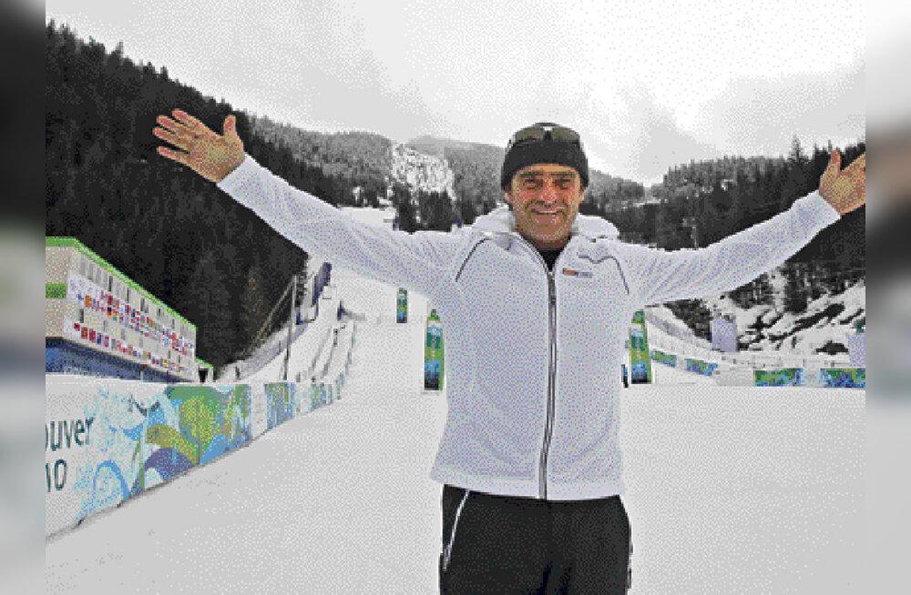 """Alberto """"La Bomba"""" Tomba:  minuta on mäesuusatamine igav!"""