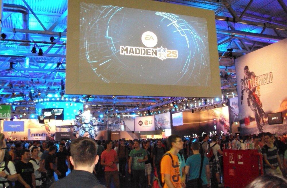 Electronic Artsi väljapanek 2013. aasta GamesComil