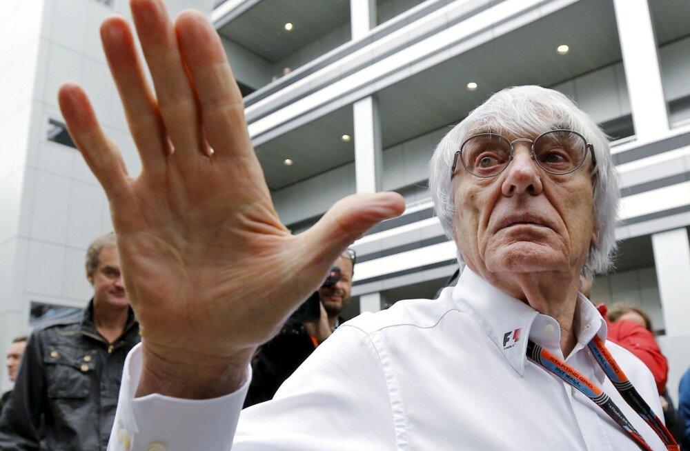 1978. aastast vormel 1 sarja äriasju ajanud Bernie Ecclestone jäi F1 tegevjuhi kohast ilma.