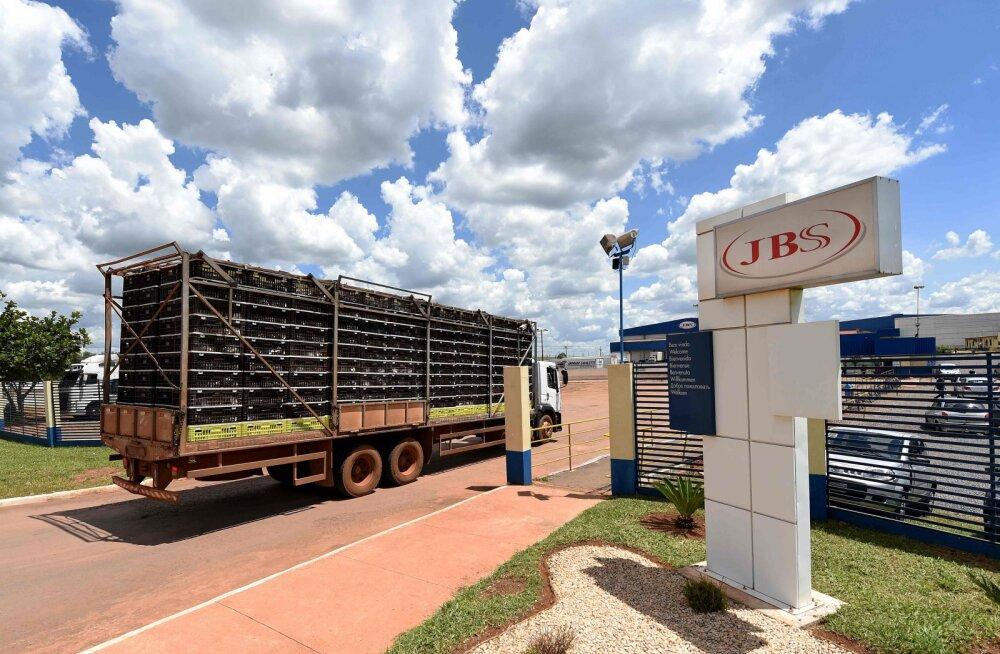 Brasiiliat tabas suur roiskunud liha skandaal