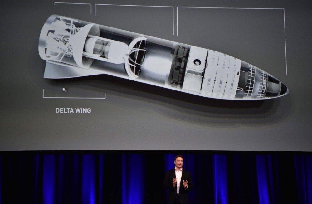 """SpaceX korraldas läinud nädalal salapärase """"Marsi töötoa"""""""