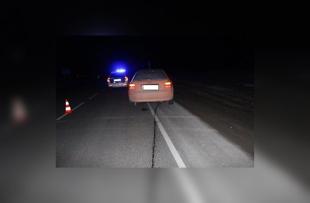 Liiklusõnnetus Sõmeru maanteel