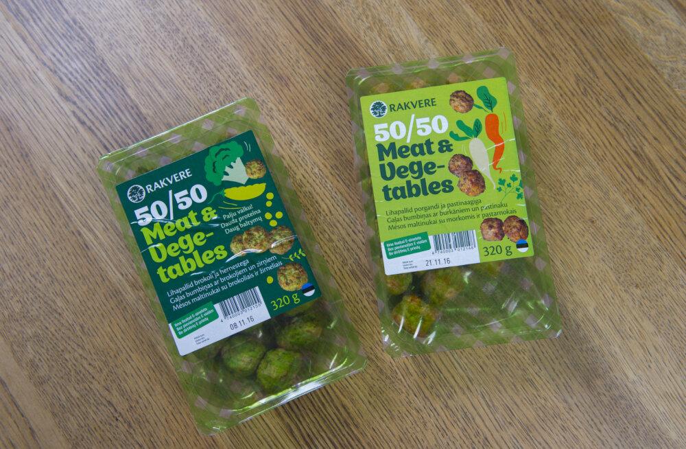 Uutes lihapallides on 50 protsenti köögivilju