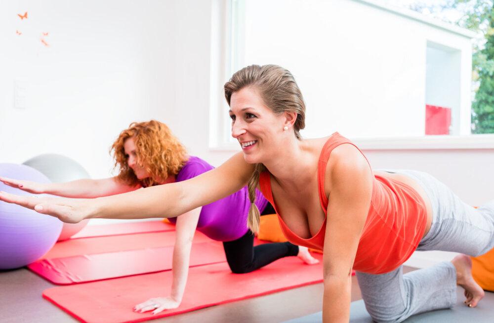 У тех, кто занимается физкультурой во время беременности, роды проходят быстрее и легче